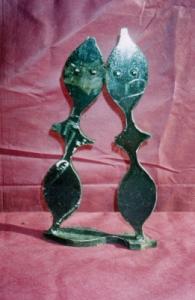 Você está navegando a partir de imagens do artigo: Esculturas em Metal